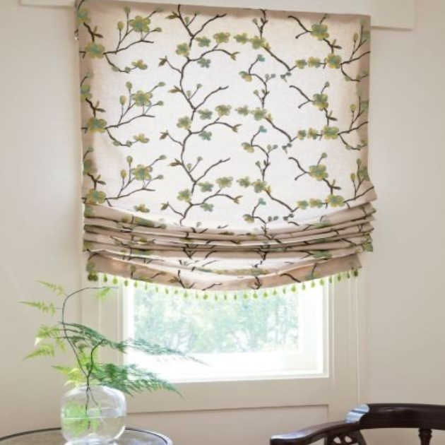 pleated fabric blinds Sydney